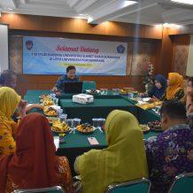 Studi Banding Universitas Slamet Riyadi Surakarta di LPPM UPGRIS