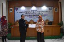 Workshop Pembuatan Proposal Pengabdian Kepada Masyarakat
