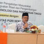 Penelitian Klaster Utama Penelitian BOPTN (Non PTNBH), UPGRIS Peringkat Satu Jateng