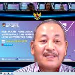 Kebijakan Penelitian & Pengabdian Kepada Masyarakat dan Pembentukan Research Group LPPM UPGRIS